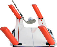 STRYK Easy Path Golf Swing Training Aid with Trap Base and 4 Speed Rods, New