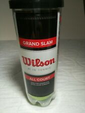 Wilson Grand Slam All Court Tennis Balls 3-Count (Wrt1043) Free shipping.