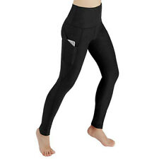 Women Workout Out Pocket Leggings Fitness Sports Running Yoga Athletic Pants CA