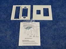 New Lutron Vwp-2Rc-Wh / Vareo 2-Gang Wallplate Two Gang Faceplate White matte