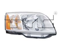 TYC NSF Left Side Halogen Headlight For Mitsubishi Endeavor 2004-2011 Models