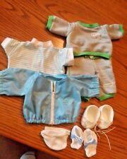 Cabbage Patch Kids 10 Pcs Doll Clothes 1983 Sweat Suit Windbreaker Shoes Sock +