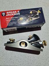 "Spear & Jackson CBP95 Carpenters Block Plane 9 1/2"""