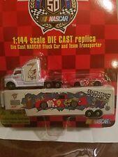 NASCAR 50TH ANNIVERSARY 1948-1998 DIE CAST CARTOON NETWORK STOCK CAR & TEAM T...