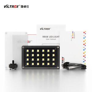 ViltroxRB08 500K-8500K video LED light portable fill light with built-in battery