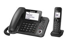 Panasonic KX-TGF320E DECT Identificatore di chiamata Nero telefono 1.88-1.9 Hz,
