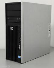-station -werk HP Z400 Xeon Quad Core X5570 2,93Ghz/4GB RAM/ 500 gb DVDRW