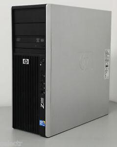 STATION TRAVAIL HP Z400 XEON QUAD CORE X5570 2,93Ghz/8 GO Ram/ 500 GO--DVDRW