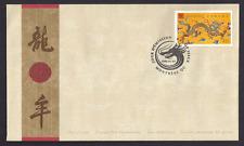 Canada  FDC  # 1836     YEAR OF THE DRAGON    2000 46c   New  Fresh  Unaddressed