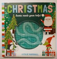 Christmas Maze Book Santa Needs Your Help! By Natalie Marshall