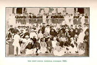 1885 BOMBAY INDIA-First Session of the Indian National Congress-8x12 Photo