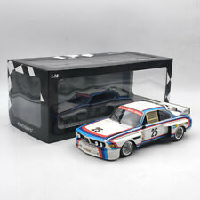 1/18 Scale MINICHAMPS BMW 3.0 CSL #25 Xpand Rally Diecast Model Car Collection