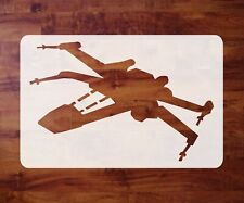 Mylar Star Wars Stencil, X-Wing Fighter, Paint, Airbrush FREE SHIPPING