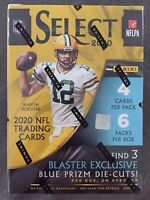 🏈🔥2020 Panini SELECT NFL Football BLASTER BOX (24 Cards) IN HAND Fast Shipping