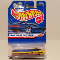 Vintage 1998 Hot Wheels First Editions Solar Eagle III Mattel NEW IN PACKAGE