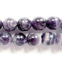 8mm Craft Supplies B19262 6pcs Amethyst Purple Gemstone Beads Grade B