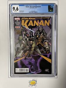 Kanan: The Last Padawan #6 CGC 9.6 WP 1st Full Sabine Wren Key Never Pressed