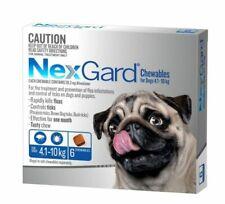 Nexgard Flea & Tick Treatment for Dogs 4.1-10kg - 6 Pack