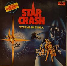 "OST - SOUNDTRACK - STAR CRASH - STERNE DANS LE DUEL - JOHN BARRY 12"" LP (L961)"