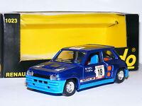 Solido 1023 Renault 5 Turbo 1980 Tour De Corse #18 1/43 Boxed