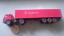 Wiking 1:87 WM 541 Mercedes Benz Werbemodell Schrift vorne Wikingauto rot weiß