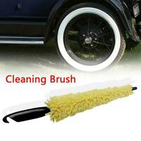 Car Handle Cleaning Brush Wheel Rims Tire Brush Car Auto Cleaning Brush Sponges