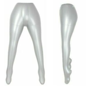 Legs Model Flexible Inflatable Mannequin Silver Replacement Female Durable