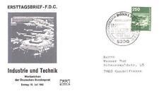 Germany 1982 FDC 1137b Lotnisko Airport Planes