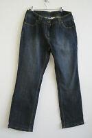 36 38 42 NEU!!! Damen Bootcut Jeans Stiefeljeans Stonewashed blau grau braun Gr