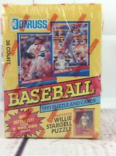 1991 Donruss Puzzle and card Baseball Cards 36 account, serie 1