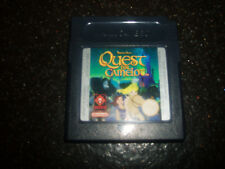 NINTENDO GAME BOY ORIGINAL GAME QUEST FOR CAMELOT