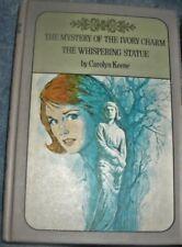 Like New NANCY DREW TWIN THRILLER #13.&14 IVORY CHARM WHISPERING STATUE, C.KEENE