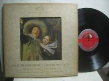 Bach Brandenburg Concs no 2 & 5, Fisher, cond-piano & Philharmonia RCA LHMV 8