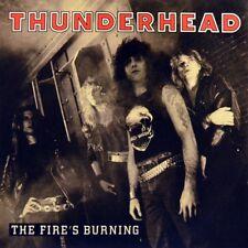 "7"" THUNDERHEAD The Fire's Burning INTERCORD Heavy Metal Hard Rock 1989 like NEW!"