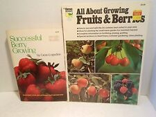 LOT All About Growing Fruits Berries Grow Successful Berry Homesteading Food