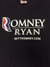 Presidential Romney/Ryan T-shirt Size L