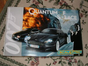 Scalextric 1/32 Quantum Of Solace James Bond 007 Racing Set Mint Never Opened