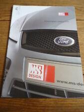 Ford MS Diseño, folleto de coche 2005