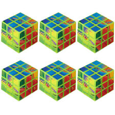 DINOSAUR Prehistoric Party PUZZLE CUBES (6) ~ Birthday Supplies Favors Toys