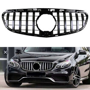 GT Panamericana Grille Grill for Mercedes Benz E-Class E300 W212 Sedan 2014-2016