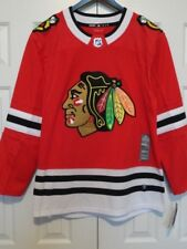 d0f250277 Mens ADIDAS AdiZero NHL CHICAGO BLACKHAWKS AUTHENTIC HOCKEY JERSEY