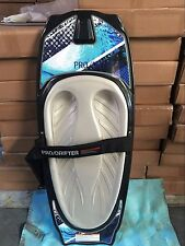 kneeboard CSS prodrifter 3 grey pad just arrived with cover + Tow hook+ rope