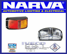 Narva LED Red Yellow Side Maker Clearance Trailer Lamp / Light Multi Volt 91602