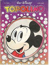 TOPOLINO N° 1889 - 9 FEBBRAIO 1992