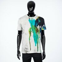 BERLUTI 530$ Ink Artwork Printed Cotton Jersey Tshirt