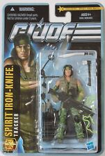"SPIRIT IRON KNIFE GI JOE The Pursuit Of Cobra 2010 3.75"" Inch Action FIGURE"