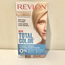 Revlon Total Color 100 Extra Light Natural Blonde Vegan Permanent Hair Color