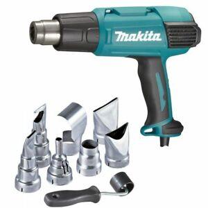Makita VARIABLE HEAT GUN KIT HG6531CKIT 2000W 50-650°C Various Accessories