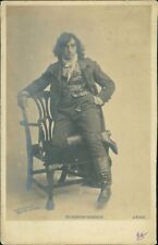 POSTCARD - Martin Harvey, Edwardian stage theatre actor in costume RM.258