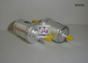 WESFIL FUEL FILTER FOR Skoda Superb 1.8L TSi 2009-on WCF93
